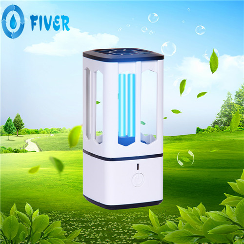 UV Air LED Sterilizer Lamp for Home/Car/Room Disinfection