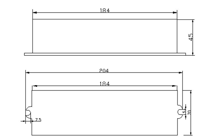48 95w uv electronic ballast with led digital display